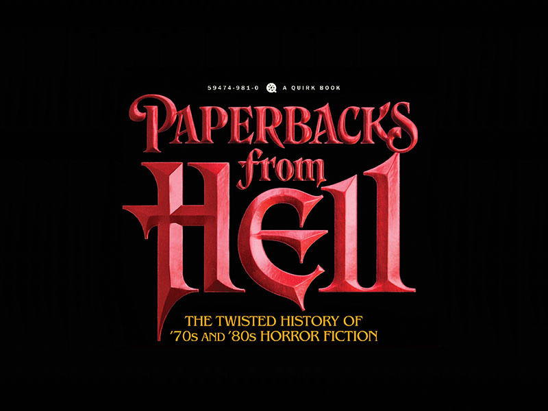 Read  Paperbacks from Hell  and Scream