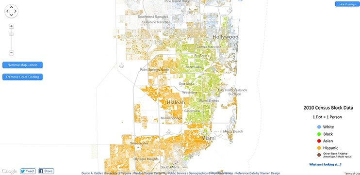 What Does Segregation Look Like Today - Map-of-segregation-in-us