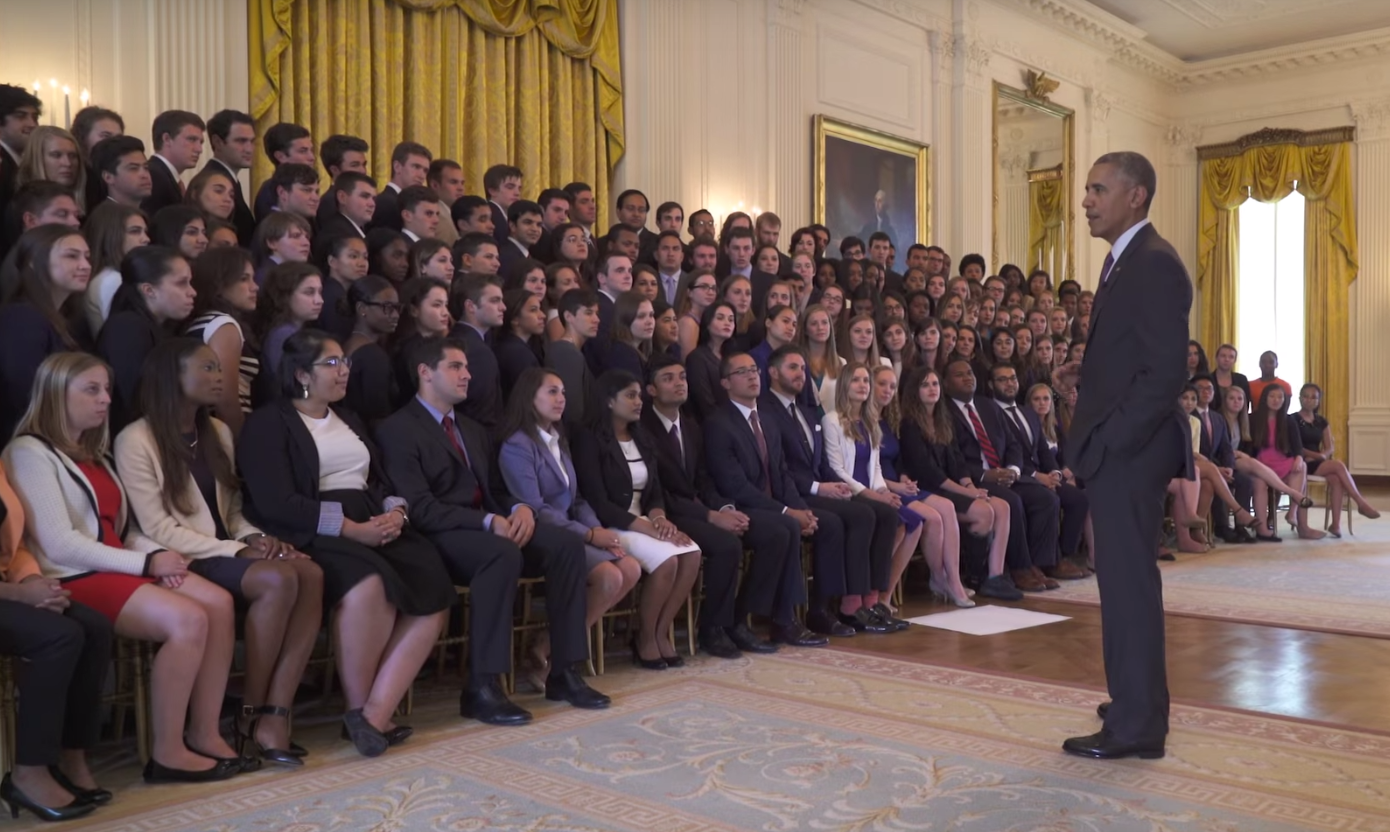 White House Interns Overwhelmingly White and Male: Photo ...