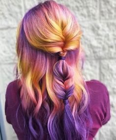6 Colorful Hair Dye Trends You\'re Already Calling Your Salon For