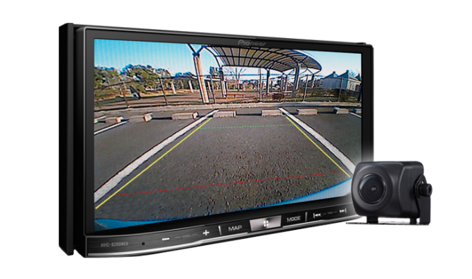 Pioneer AVIC-8201NEX Flagship In-Dash Navigation AV Receiver with Capacitive Touchscreen Display, 7""