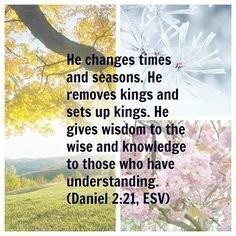 verses about seasons