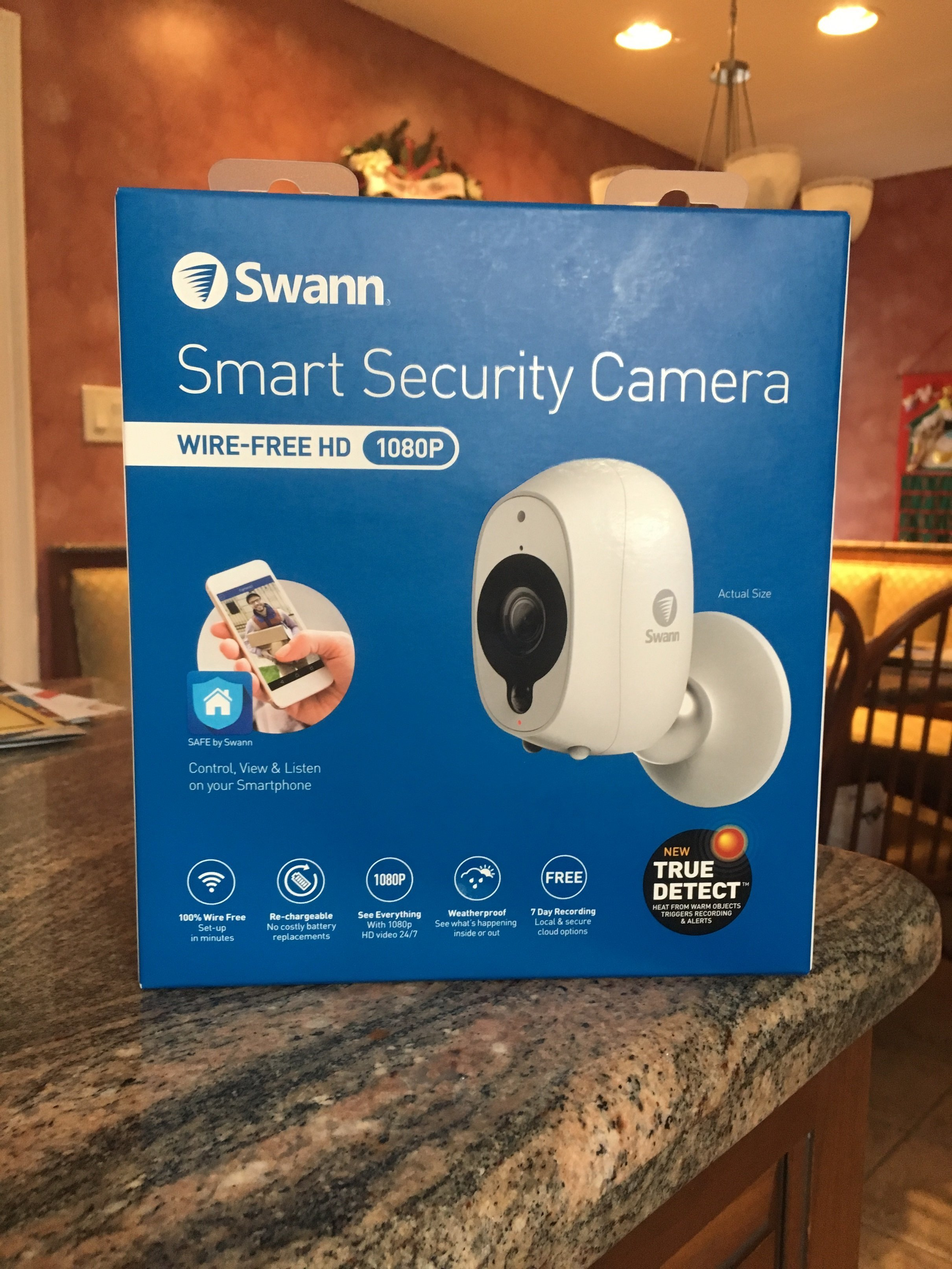 Review Swann Smart Security Camera With Hd 1080p And Wi Fi Gearbrain Solar Power 2nd Edition Upgrades Battery Bank Wiring Youtube