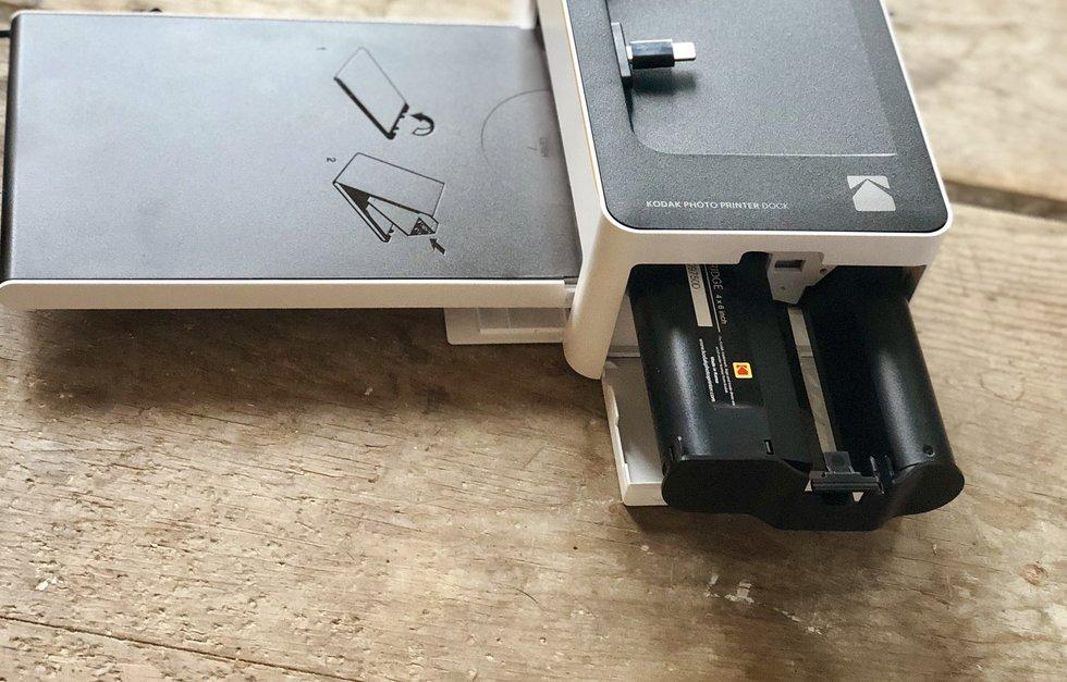 Kodak Photo Printer Dock Review Watch Us Print In Minutes Gearbrain