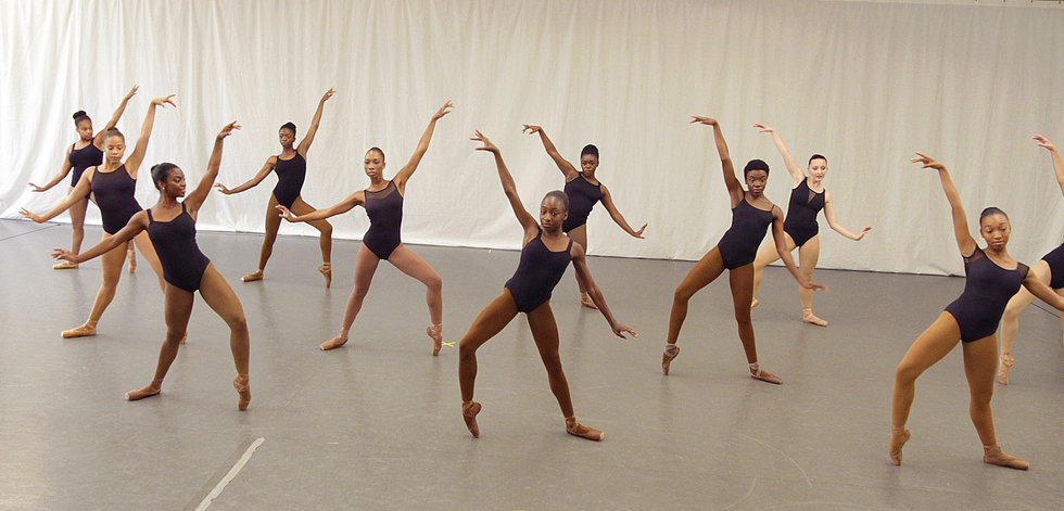 At Dance Theatre of Harlem's Summer Intensive, Pink Tights Aren't