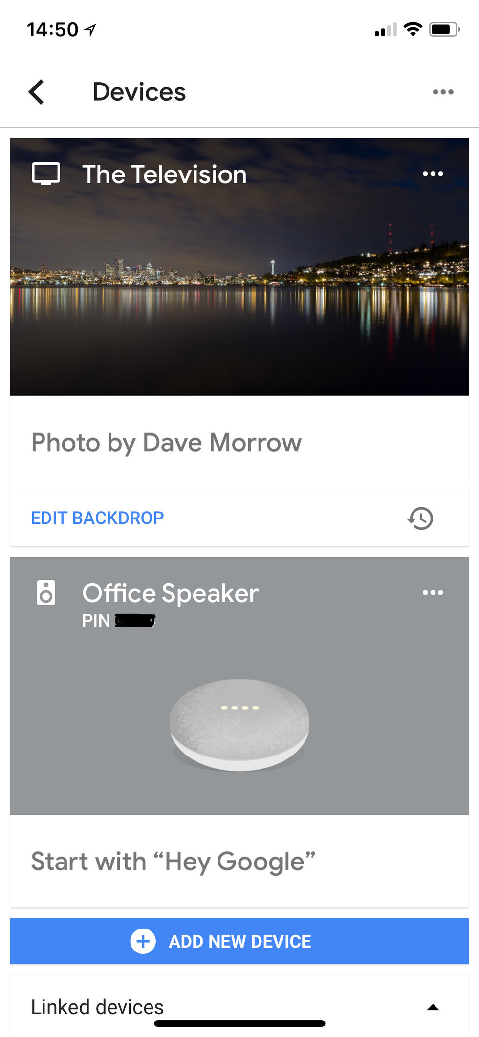 Google Home app for setting up your TV to Google Home.