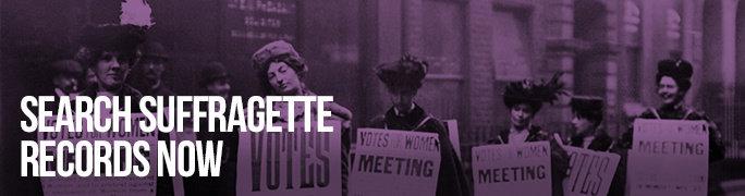Search Suffragette Records