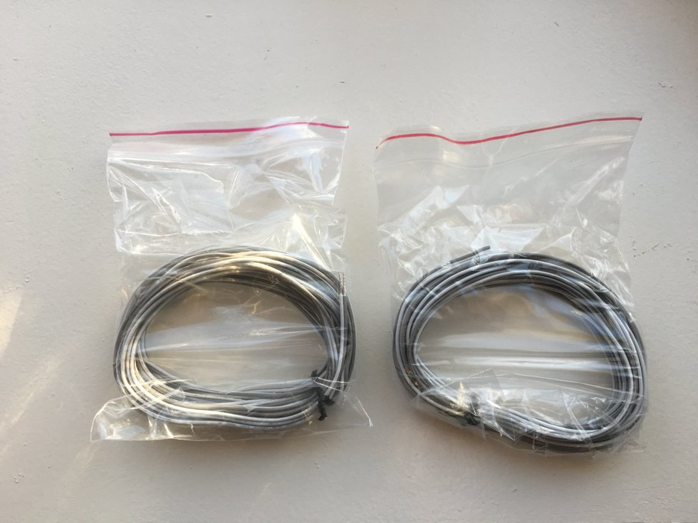 Asante Supplies Two Sets of Wires