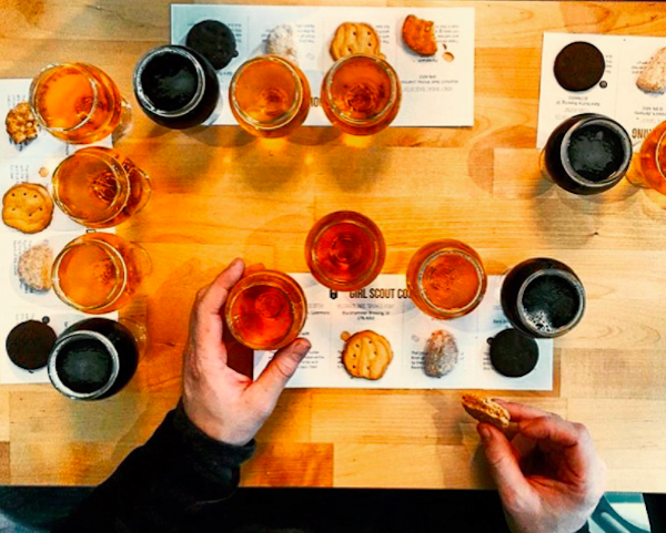 Girl Scout Cookies + Beer Pairings Are Now A Thing - 7x7 Bay