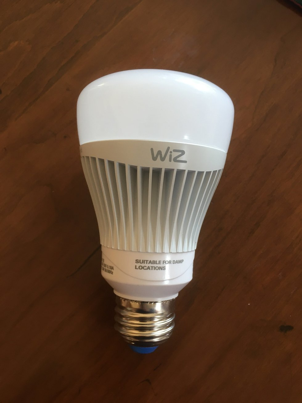 2 Pack of Wiz Smart Lights comes with 2 Wi-Fi LED Bulbs