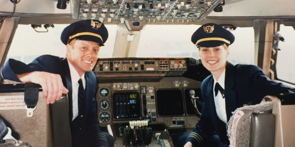 Married United Pilots