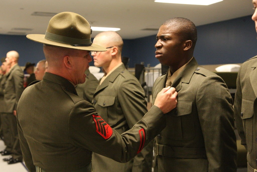 Uniform Inspection Usmc