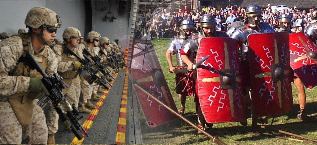 Here's what would happen if modern Marines battled the Roman