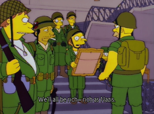 Your Handy Viewing Guide To Military Episodes Of The Simpsons We