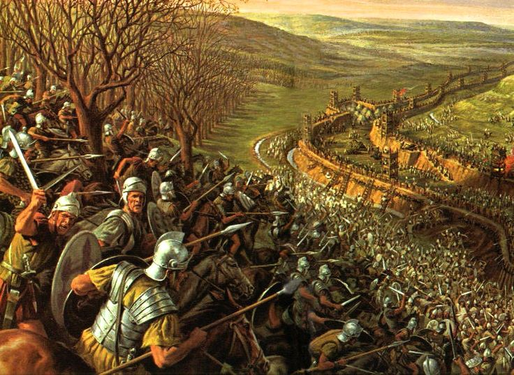 Julius Caesar In Battle This siege is o...