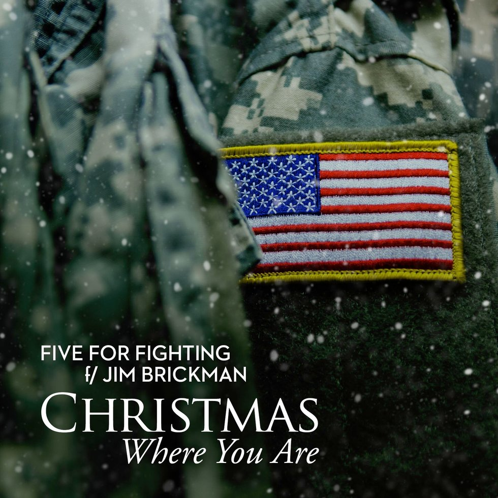 the holidays can be an especially hard time for our troops and their families ondrasik and brickman said in a release christmas where you are is a - Who Wrote Blue Christmas