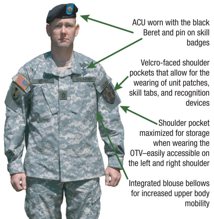 why the us military has shoulder pockets on combat uniforms we are