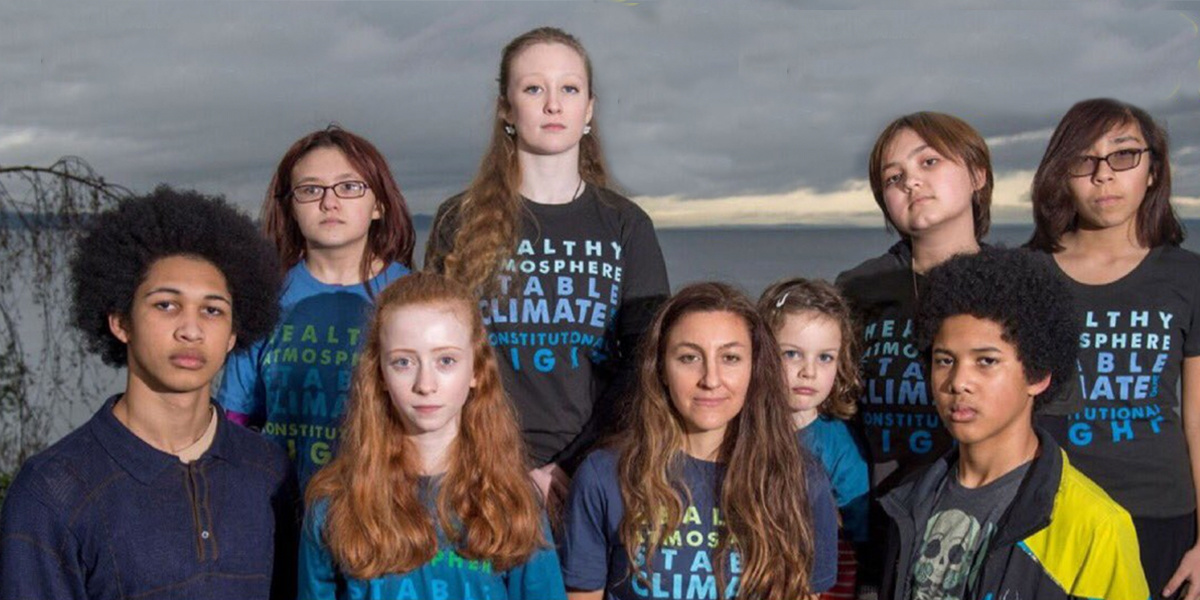 13 Youths in a Position of Danger Sue Washington State Over Climate Crisis