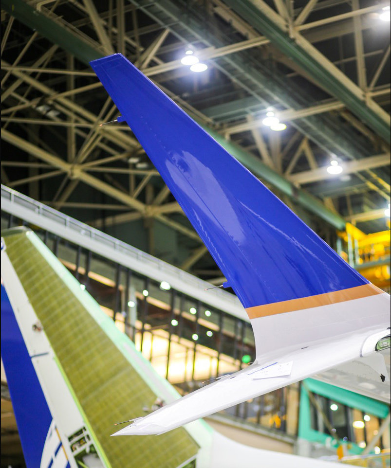 Boeing's new advanced technology winglet