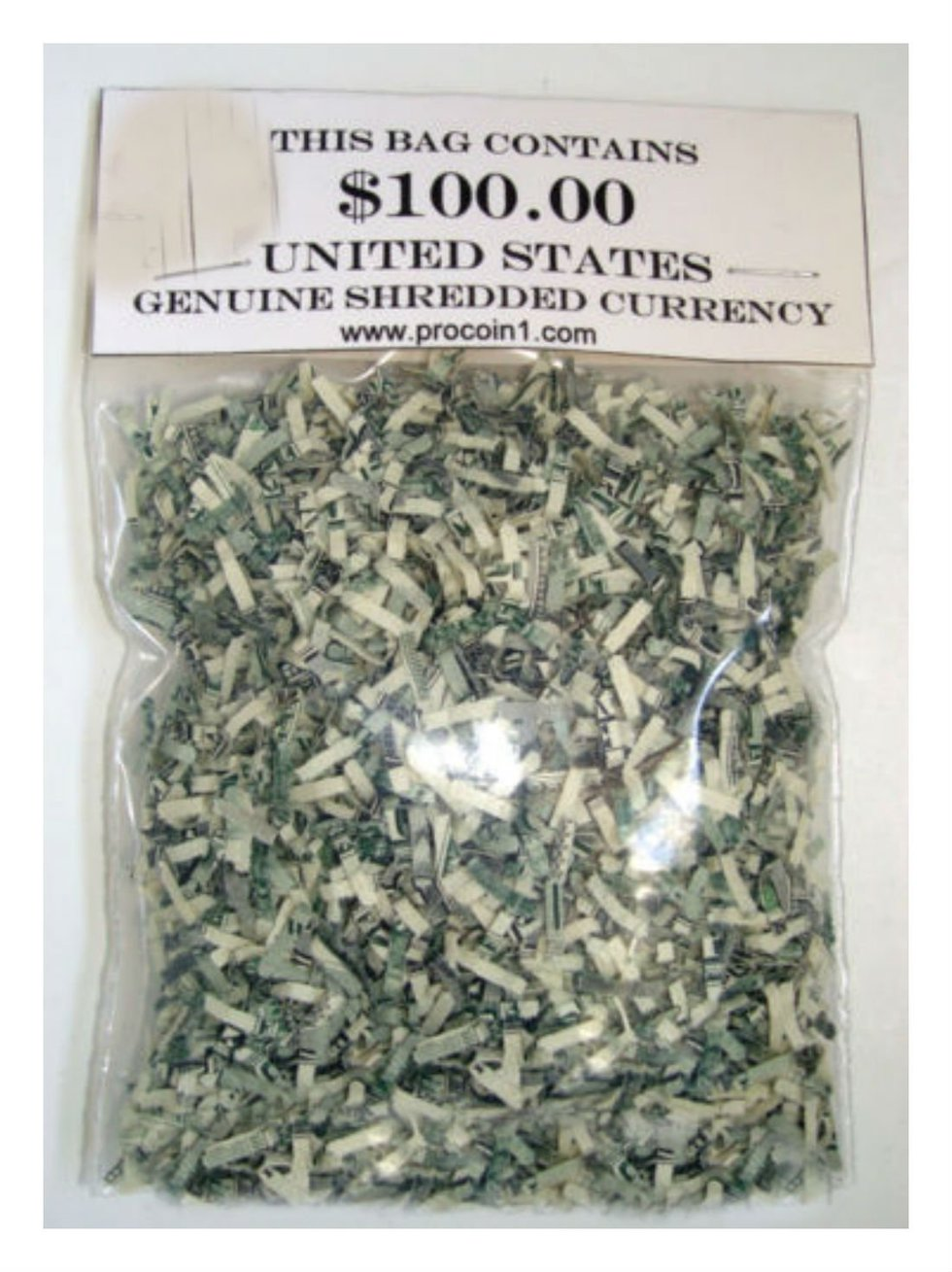 Shredded Money Confetti