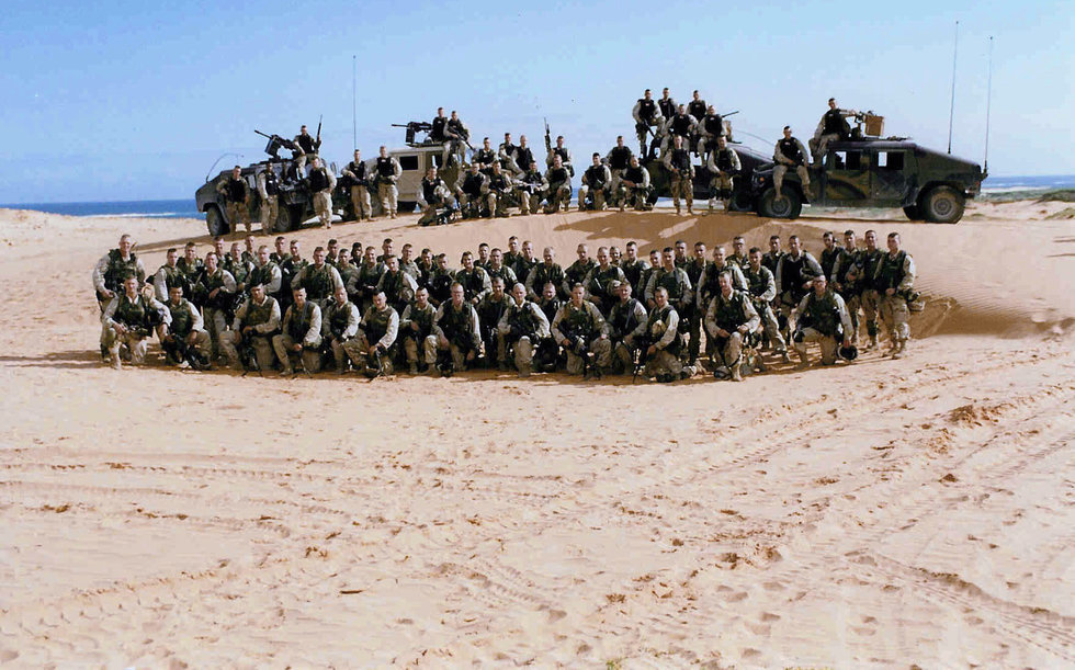 Members Of Task Force Ranger Pose For A Picture In Somalia 1993 Photo US Army