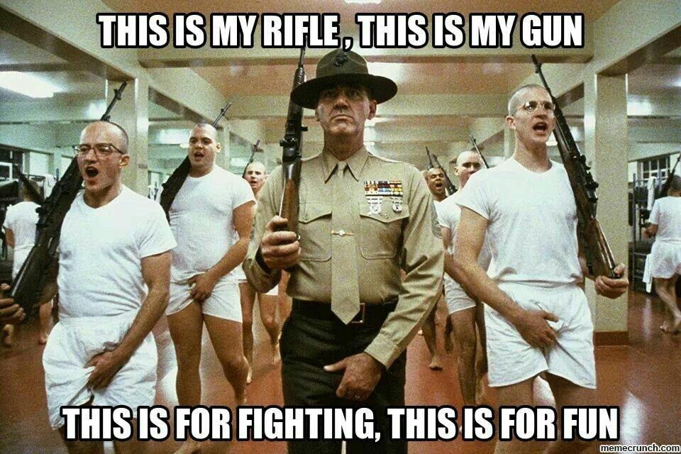 Marine pick up lines