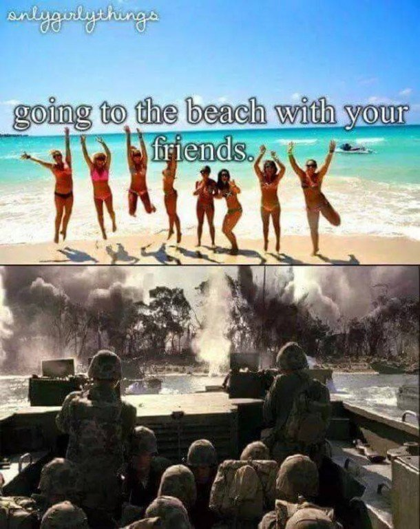 2 You Know Theres At Least One Sergeant Warning Everyone About Sunburn Via Military Memes
