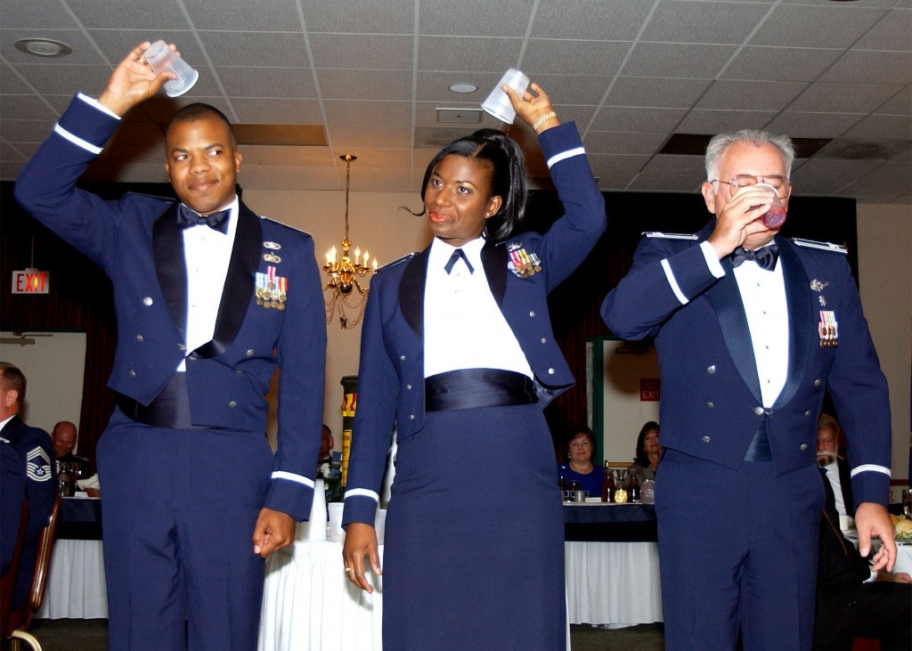 These Are The Hilarious Rules Of The Air Forces Formal Dining In
