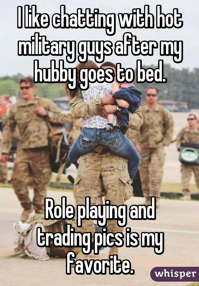 Quotes about hookup a military man