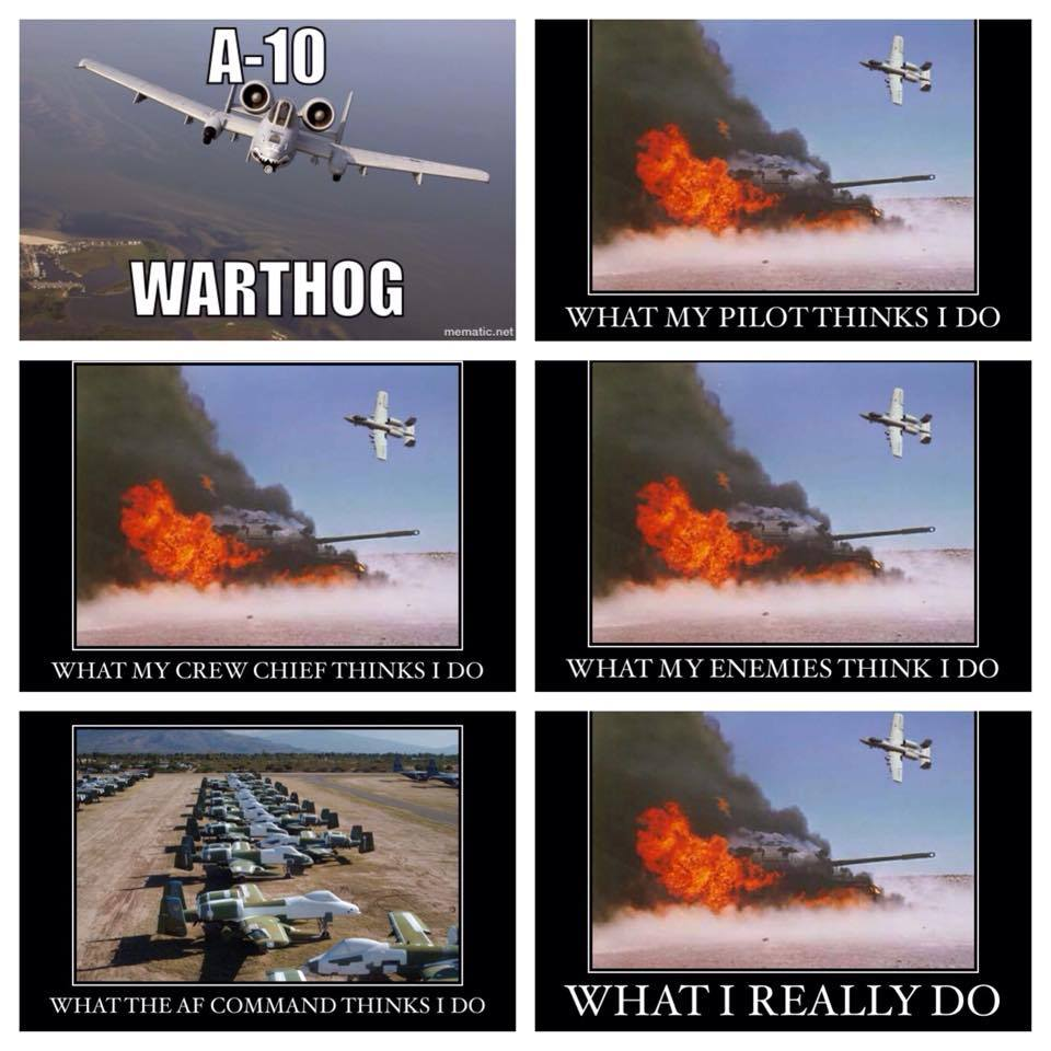 the best a-10 memes on the internet