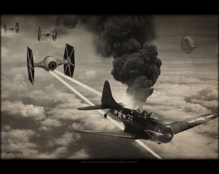 This Artist Did A World War 2 Star Wars Mashup And The