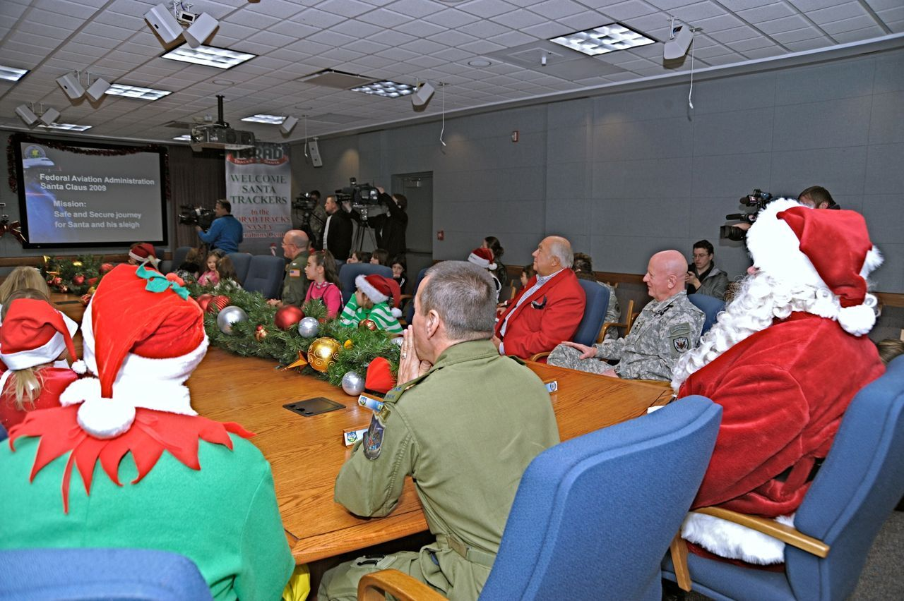 NORAD tracking Santa on Christmas Eve started with a misprinted ...