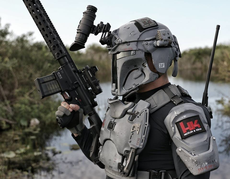 Real Armor Manufacturers Created This Crazy Star Wars Body