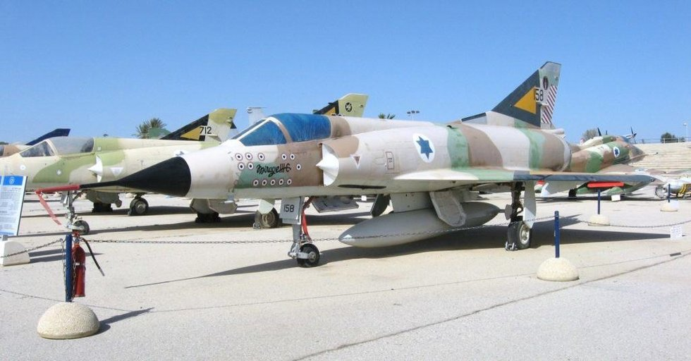 An Israeli Mirage Iii At A Museum Giora Epstein Scored The First Of His 17 Kills A Su 7 In A Mirage Iii P O From Wikimedia Commons The Six Day War