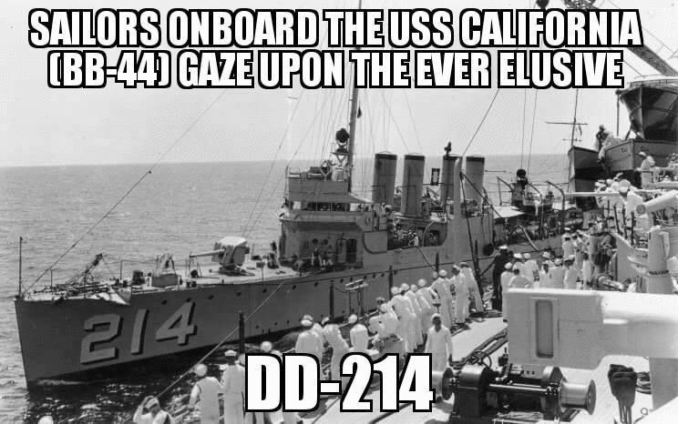 The Proud World War II History of Navy Ship DD-214 - Warrior