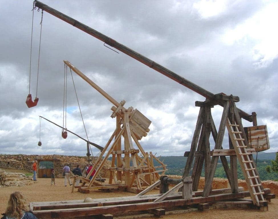 Trebuchet during the First Crusade | DIY Badass Weapons That Can Save Your Life When SHTF [2nd Edition]