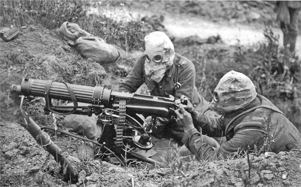 Image result for wwi machine guns