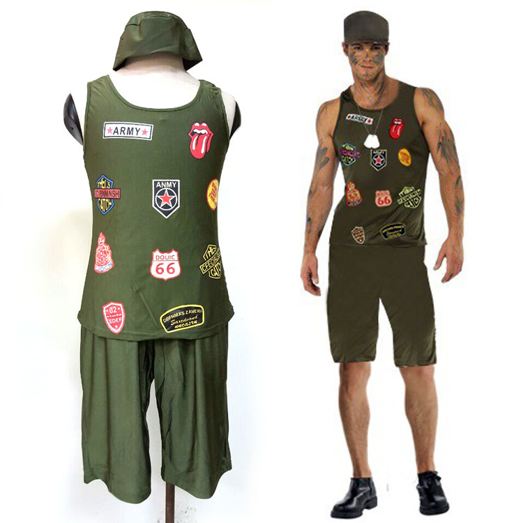 High quality military man.    sc 1 st  We Are The Mighty & 10 craptastic Halloween costumes completely out of regulations - We ...