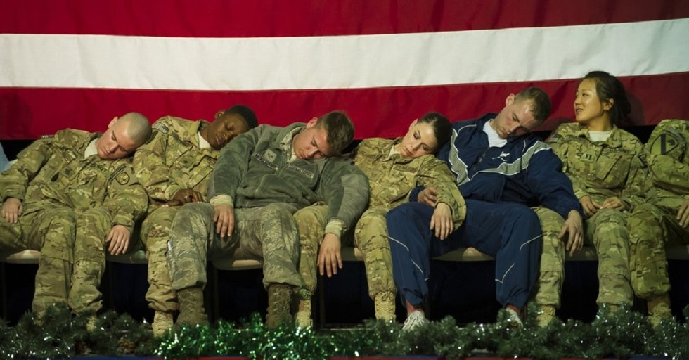 5 worst waits troops hurried up to be at