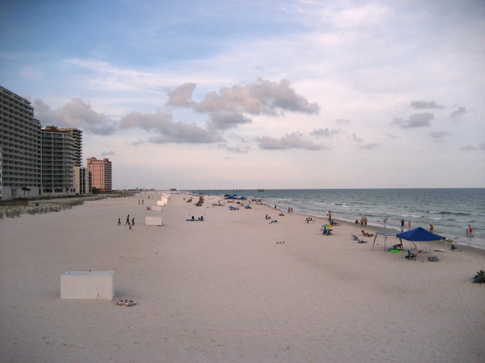 This Is Basically A Florida Beach In Alabama You D Be Hard Pressed To Find Better Than The Ones Gulf Ss With Its White Sand And Crisp Waves