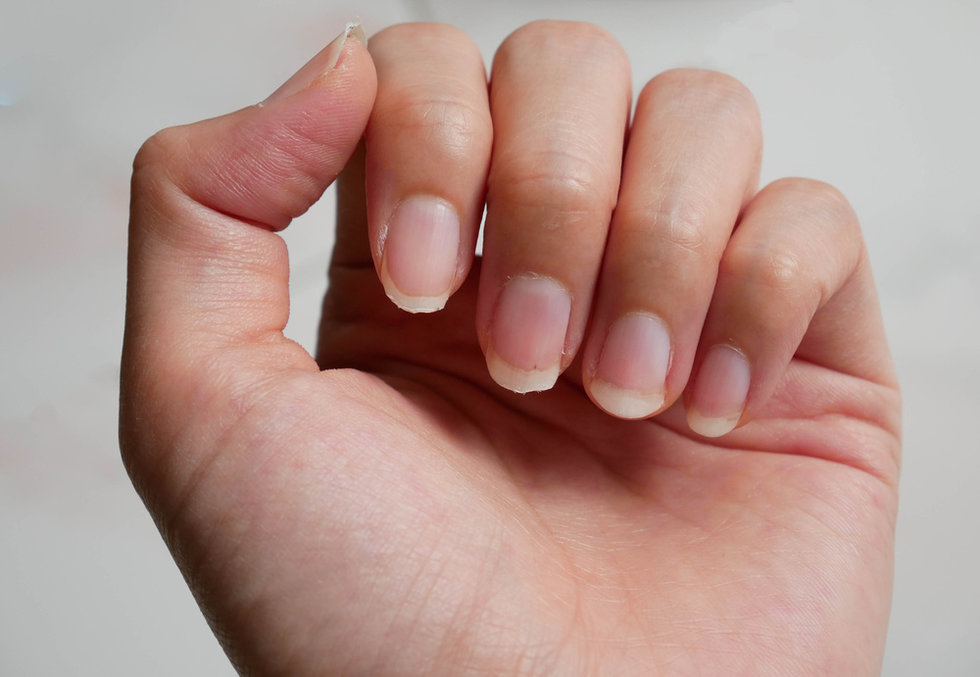 The Meaning Of The Half Moon Shape On Your Nails Have Finally Been ...