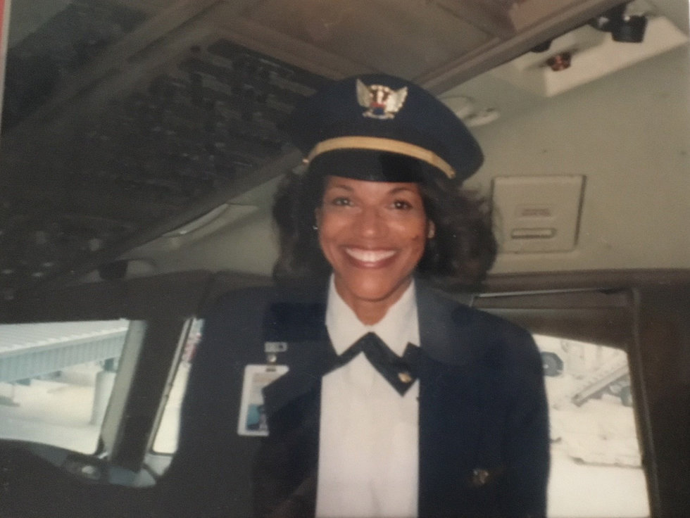 Meet our first African American woman pilot