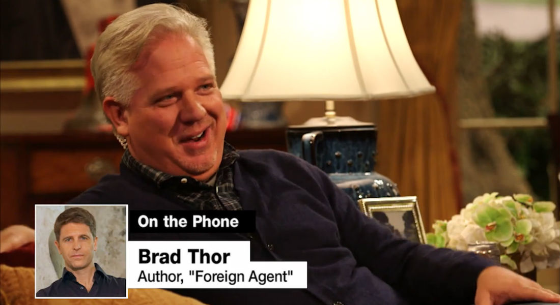 The Five Stages Of Grief With Brad Thor Glenn Beck