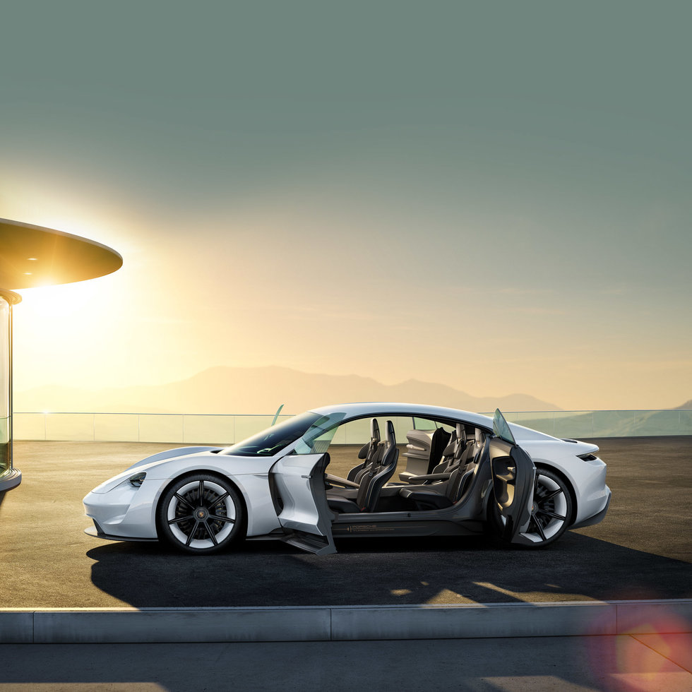 Here's why Porsche thinks its Mission E electric vehicle will beat Tesla