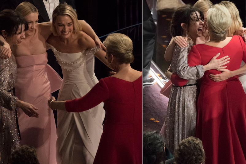 This Group Hug with Losing Best Actress Nominees Will Shake You