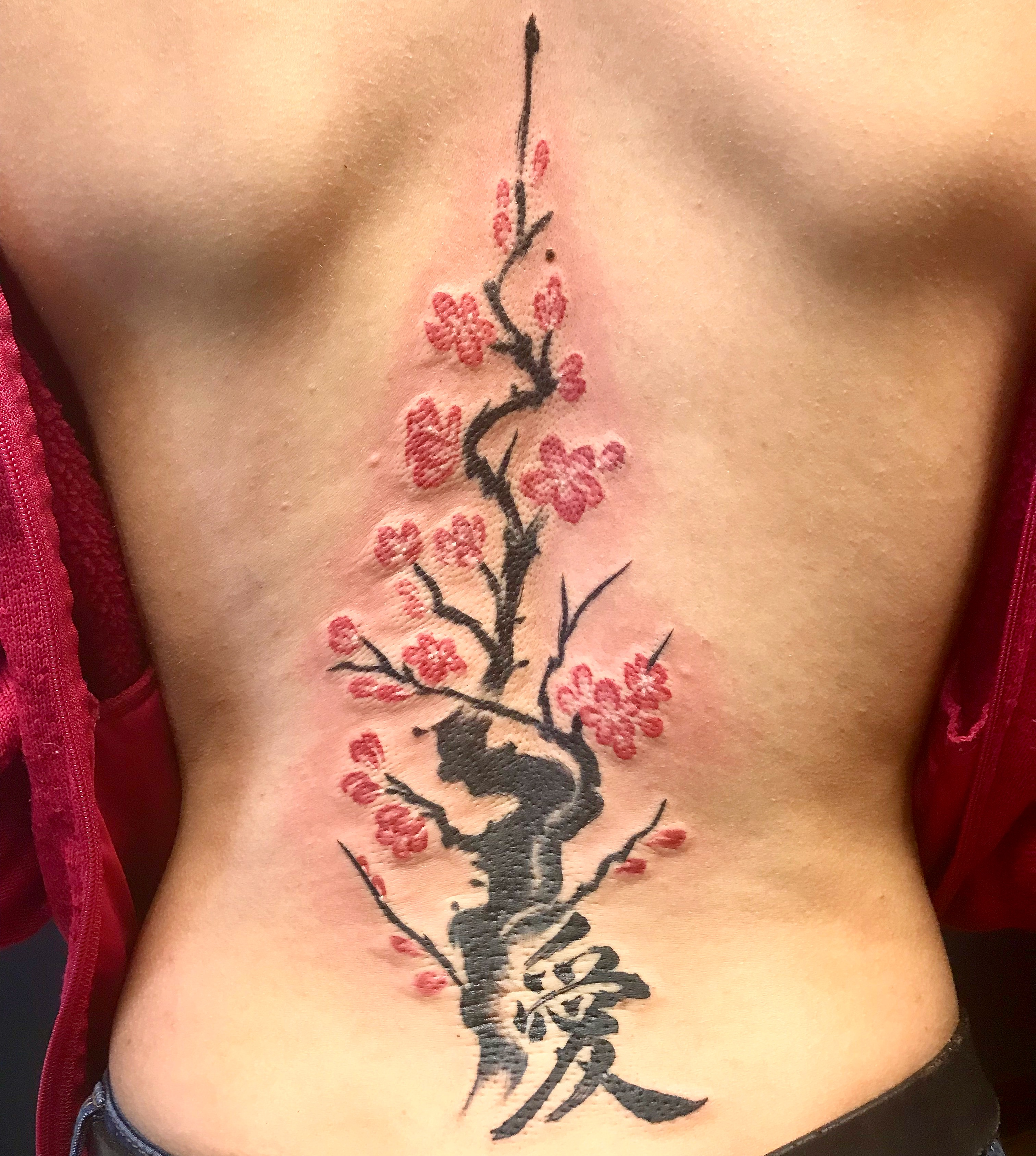 The Meaning Behind My Cherry Blossom And Kanji Tattoo