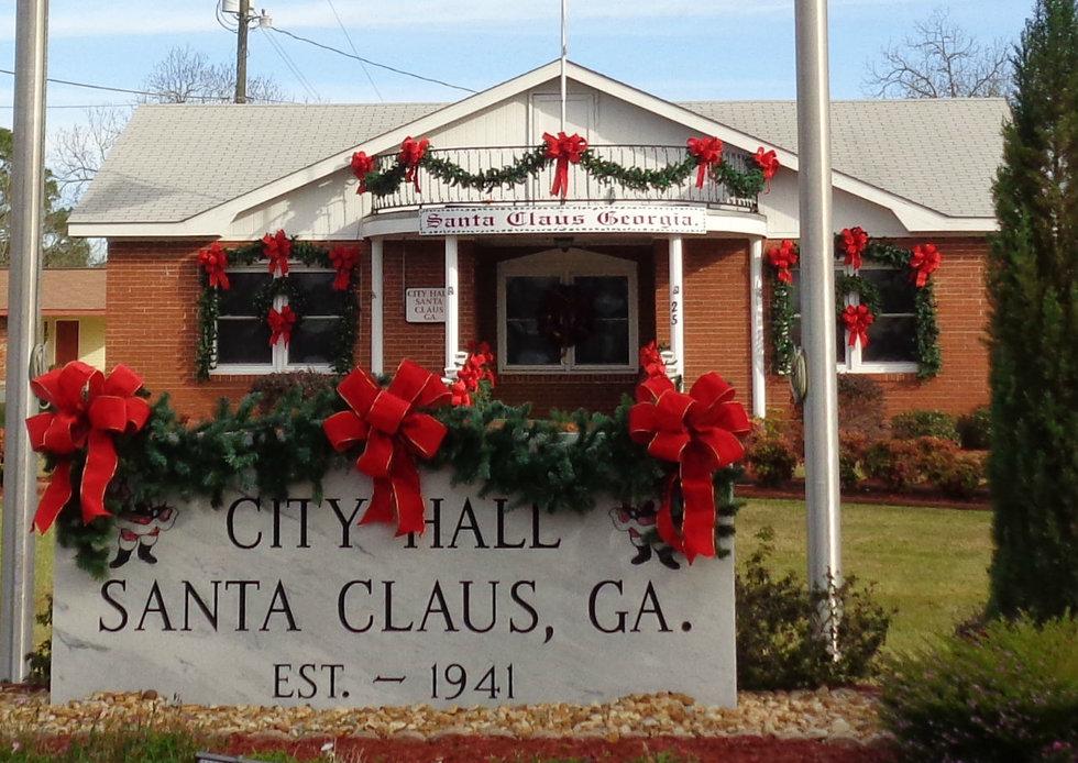 its always christmas in santa claus georgia - Always Christmas