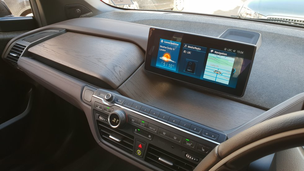 The Bmw I3 S Interior Is One Of The Smartest On Sale Today Gearbrain