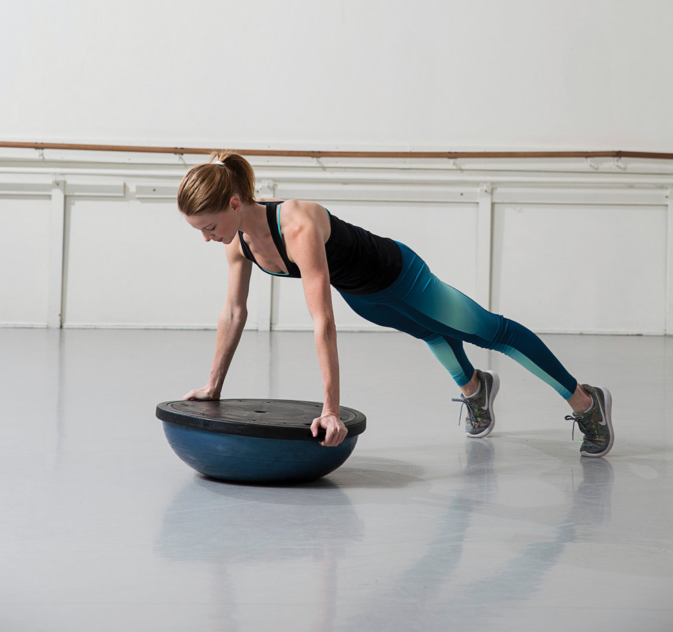 Bosu Ball Side Jumps: The Best BOSU Ball Exercises For Dancers