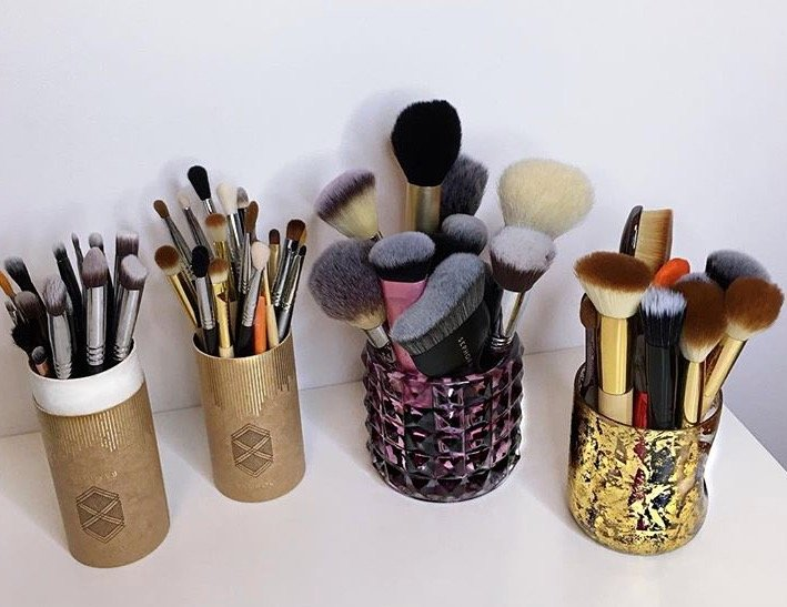 Even on a daily basis, I love doing my makeup, and I have tried many different ways to clean these tools without ruining them.